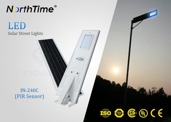 Trung Quốc PIR Sensor Smart Solar Street Light All In One , Solar Powered LED Street Light With Camera nhà cung cấp
