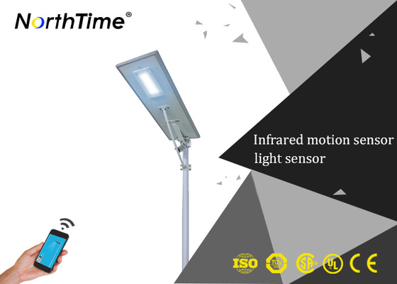 Trung Quốc Pathway Intelligent LED Street Lamp With Mono Crystalline Solar Panels nhà cung cấp