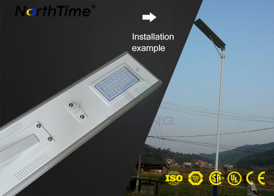 Trung Quốc IP65 High Power Solar Lights Aluminum Automatic Street Lighting With Solar Panel nhà cung cấp