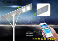 5 Years Warranty 6W To 120W All in One Integrated Solar Street Light For Outdoor Lighting