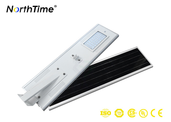 ECO Friendly 4400Lm Solar Street Lamp , Solar Integrated Street Light With Solar Panel